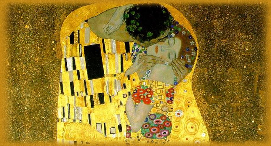art: Gustav Klimt: The Kiss