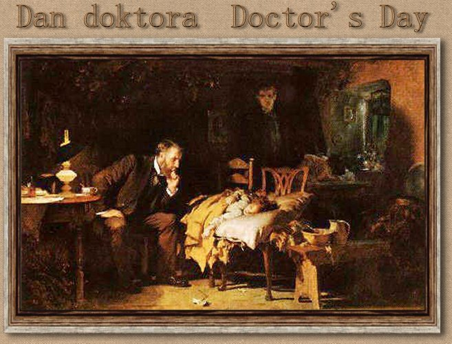 art:  Samuel Luke Fildes - The Doctor