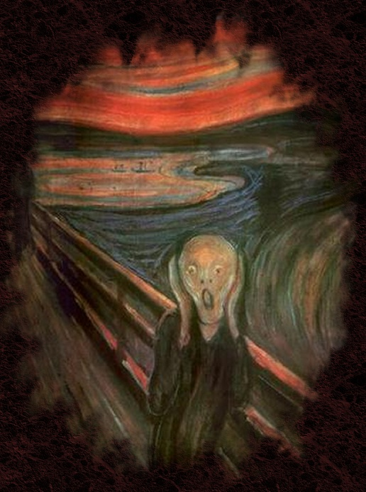 The Scream [ Krik ] - Edvard Munch