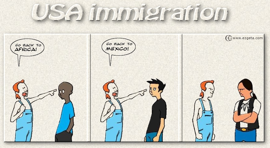 Really funny immigration Blog